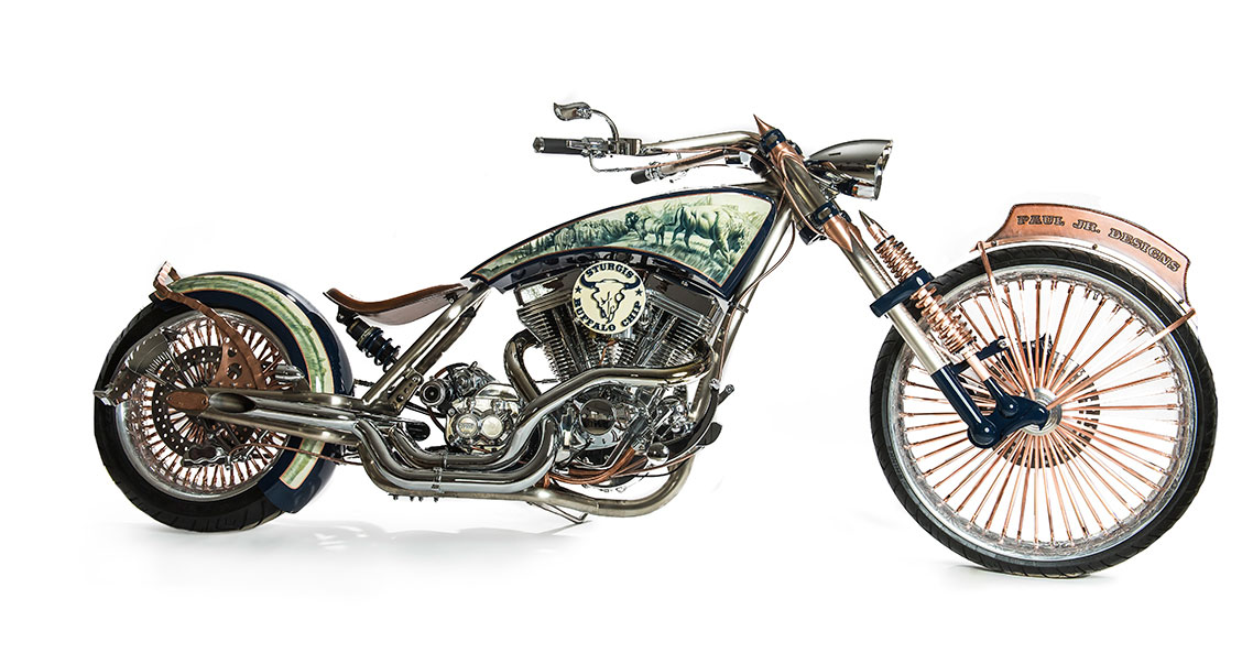 Legends Ride 2018 Auction Bike Built by Paul Teutul Jr. on ...